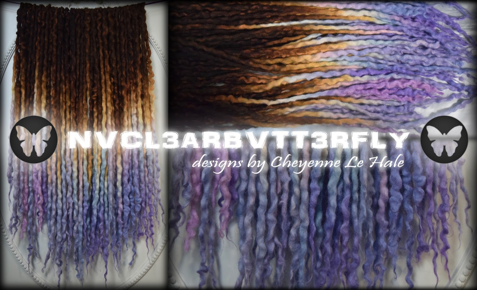 Hair Extensions Cyberlox Dreadfalls Fringe Synthetic Hair