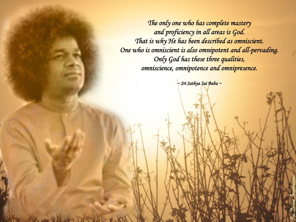 SAI DIVINE INSPIRATIONS: Omniscience, Omnipotence and ...