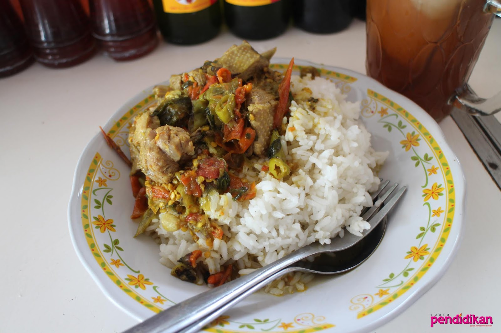 Rica Rica Entok Bu Sahar Empuk Dagingnya Pedas Bumbunya