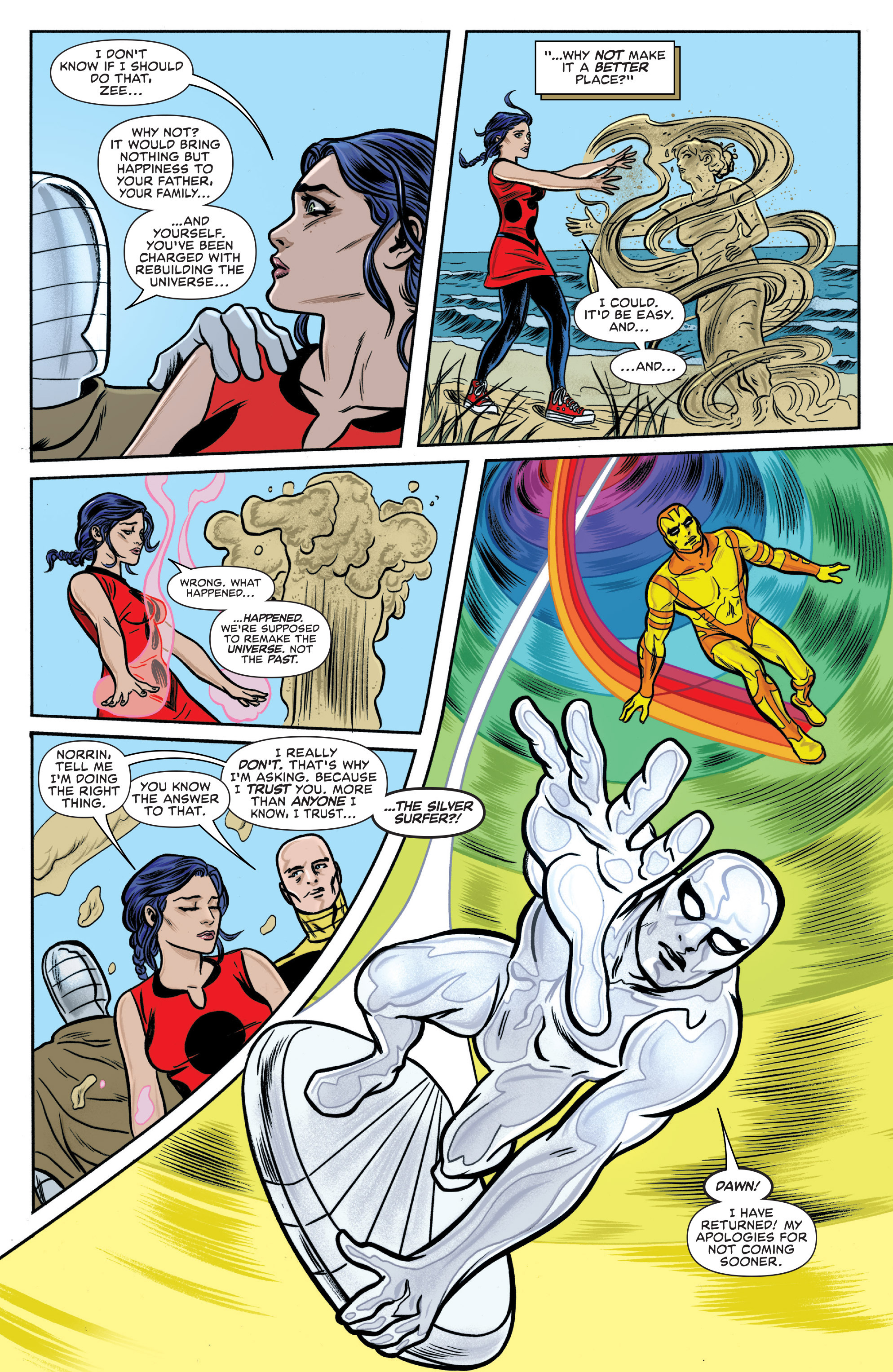 Read online Silver Surfer (2014) comic -  Issue #15 - 7
