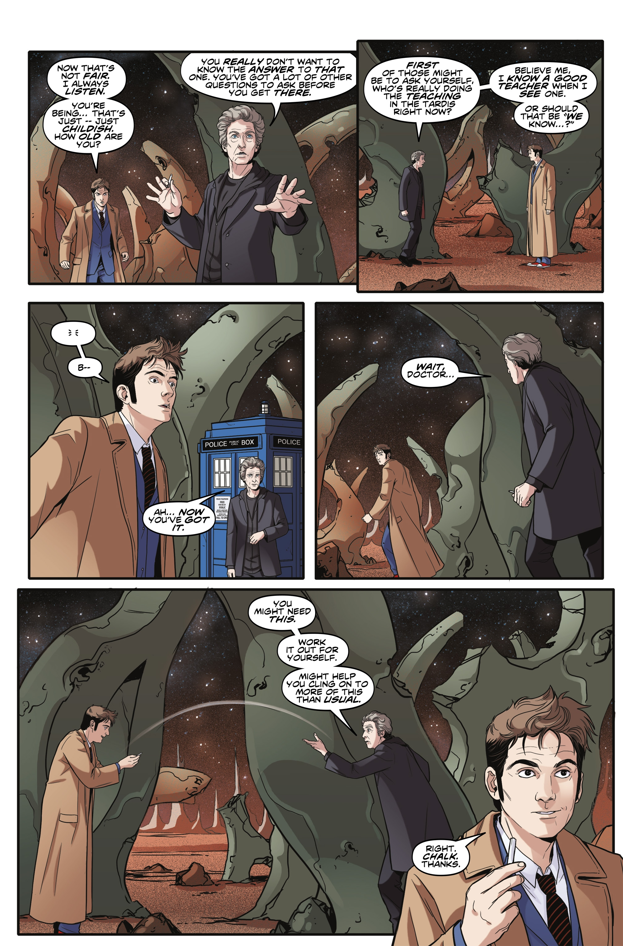 Read online Doctor Who: The Tenth Doctor Year Three comic -  Issue #6 - 23