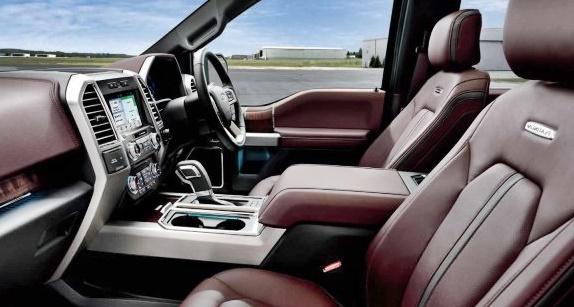 2020 Ford F150 Interior Concept