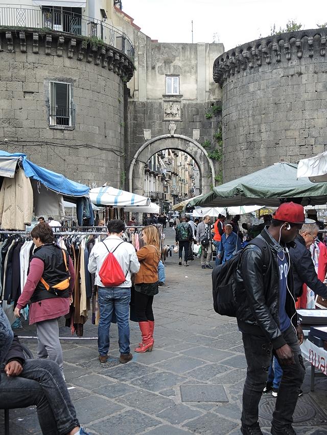 bead shops in via nolana in Napoli Italy