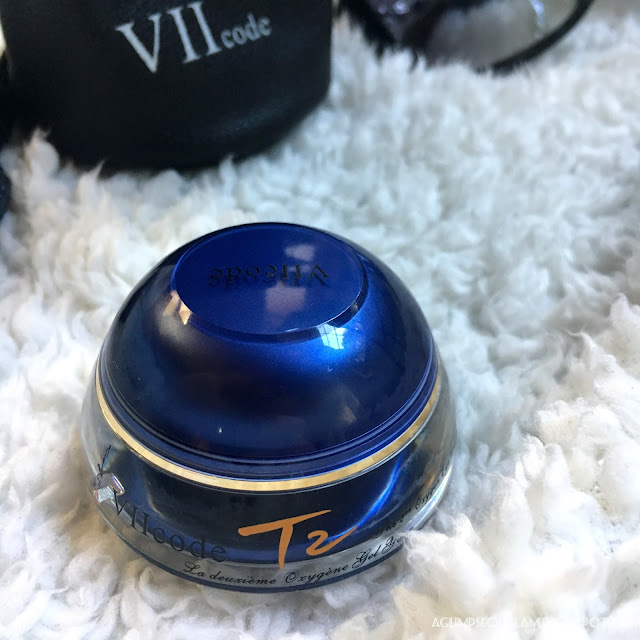A Glimpse of Glam, VIICode Oxygen Eye Cream, VIICode Review, Eye cream review, Giveaway, Skincare, Eye skincare, Andrea Tiffany