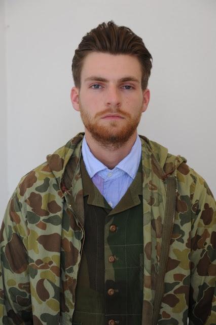 Veste camouflage mec