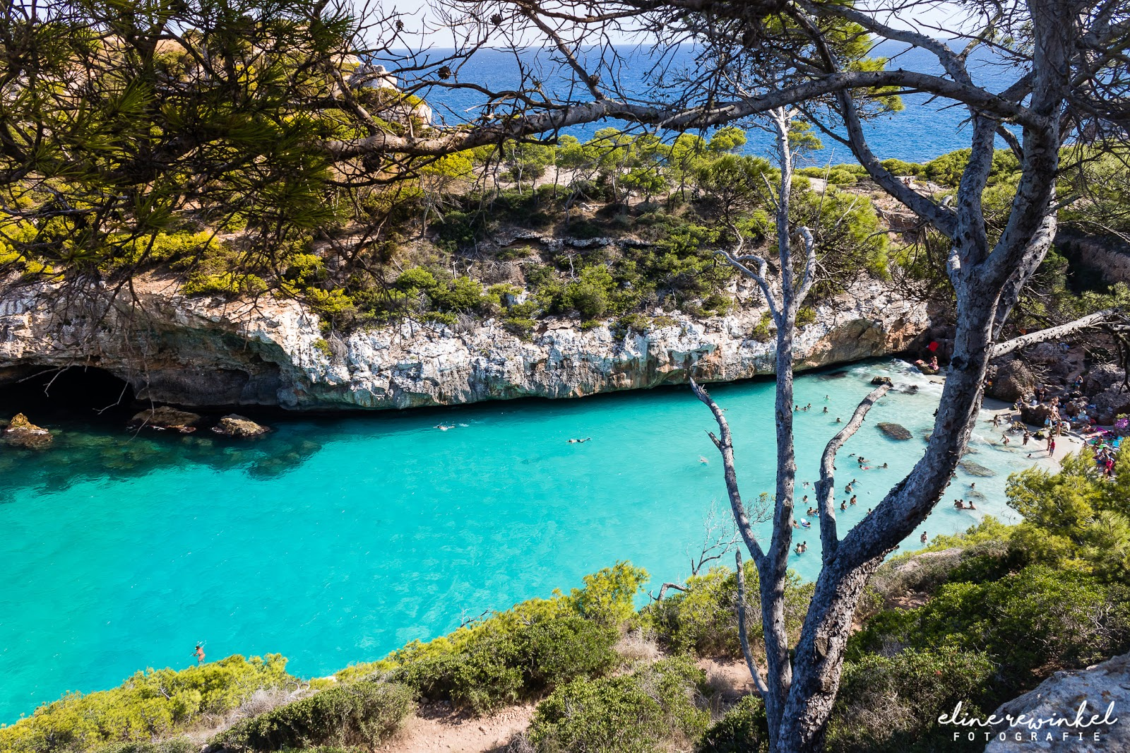 Most Beautiful Spots of Mallorca, Calo des Moro and Es Pontas