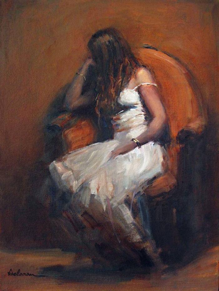 Современный абстрактный реализм. Delaram Mowatt