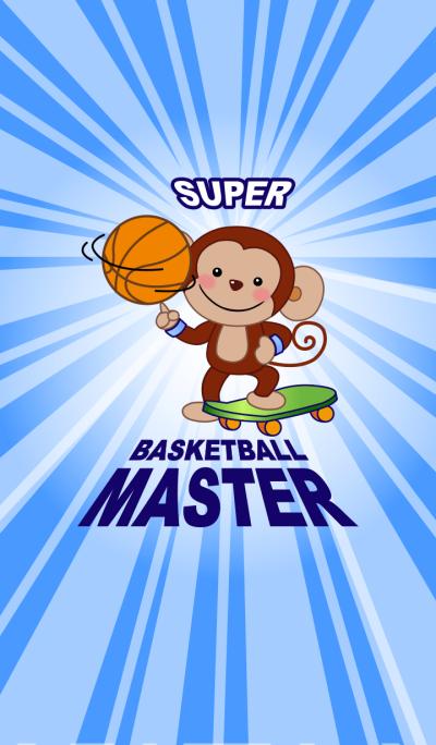 Smiling Little Monkey~Basketball Master