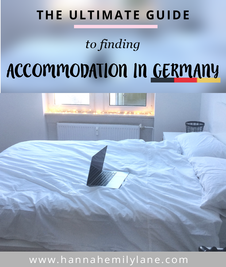 Finding accommodation in Germany - Your options and where to look | www.hannahemilylane.com