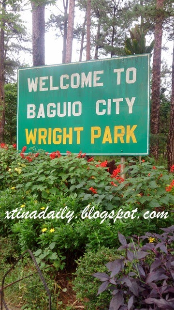 Wright Park Sign