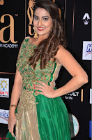 Manjusha in Beautiful Sleeveless Green Anarkali dress at IIFA Utsavam Awards 28.JPG