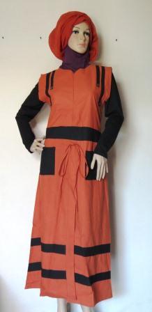 Gamis Kensi Masa Kini Gk2290 Grosir Baju Muslim Murah
