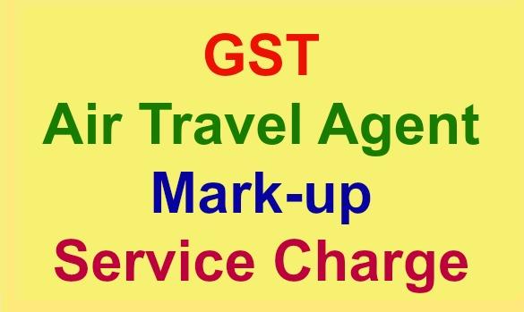 travel agent invoice