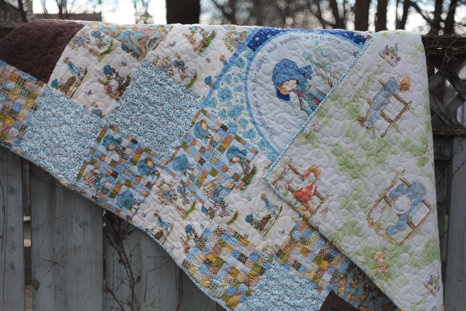 Let S Go Fly A Kite February S Quilt Holly Hobbie Quilt