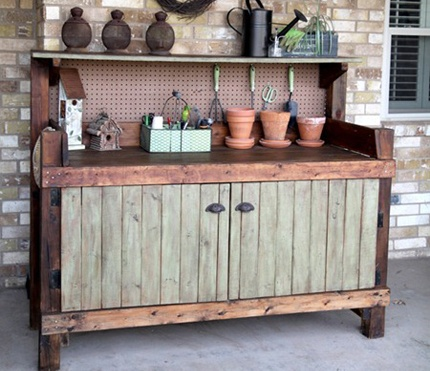 Pallet Kitchen For Outdoor Cooking Pallets Designs