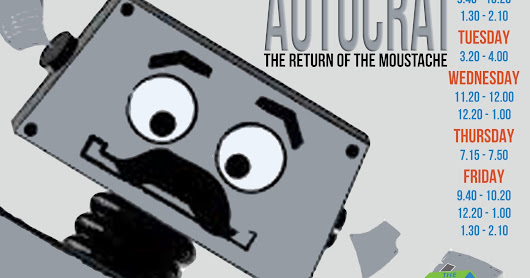Google Drive's Autocrat Add-on: The Return of the Moustache