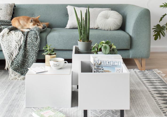 IKEA HACK, conjunto de mesas de centro multiusos