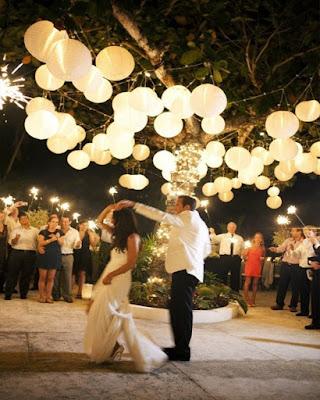 pista de baile boda al aire libre