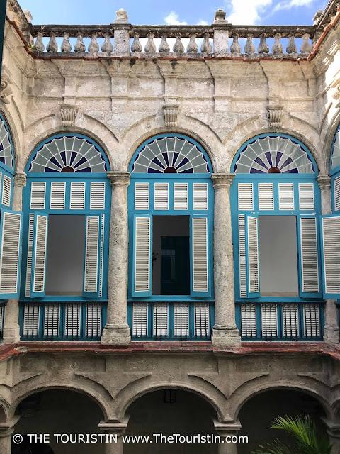 Palacio del Segundo Cabo Vieja Cuba havana the touristin windows