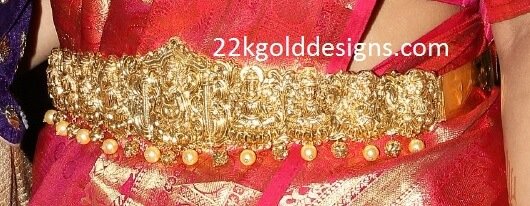 Gold AshtaLakshmi Vaddanam