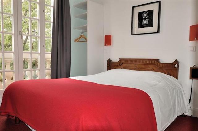 Hotel Verlaine em Paris - quarto