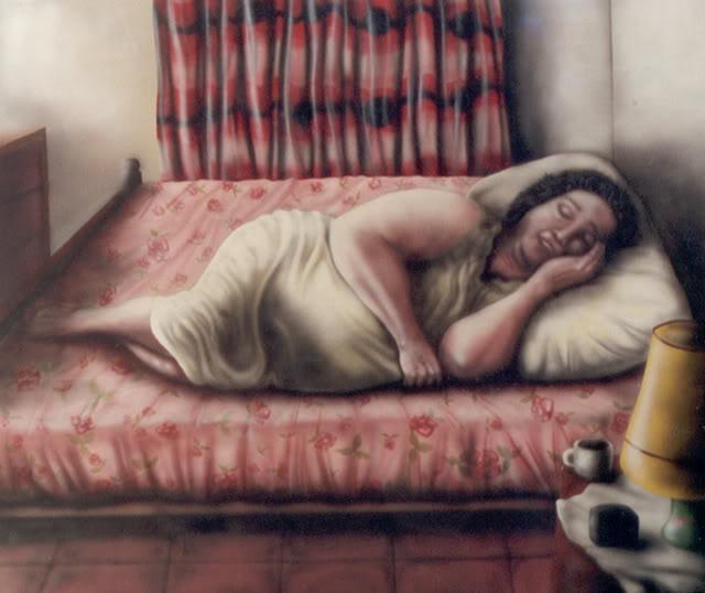 Dormida y mirada por todos - 4 2