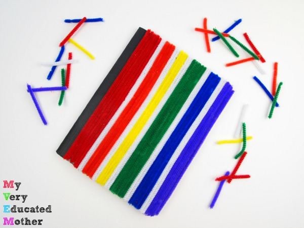 Back to School: DIY Pipe Cleaner Notebook