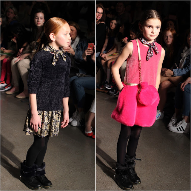 Girls Dresses with Printed Scarves   FW16   Imoga   Chichi Mary