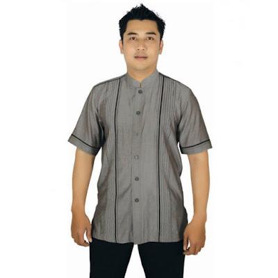 contoh baju muslim pria
