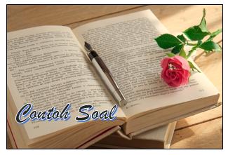 Contoh Soal dan Pembahasan Ungkapan, Majas, dan Peribahasa
