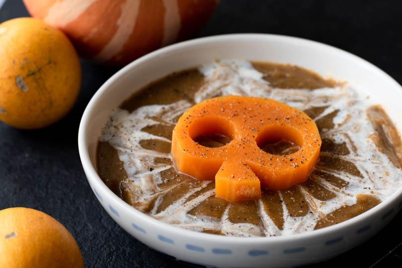 recette Soupe courge champignons