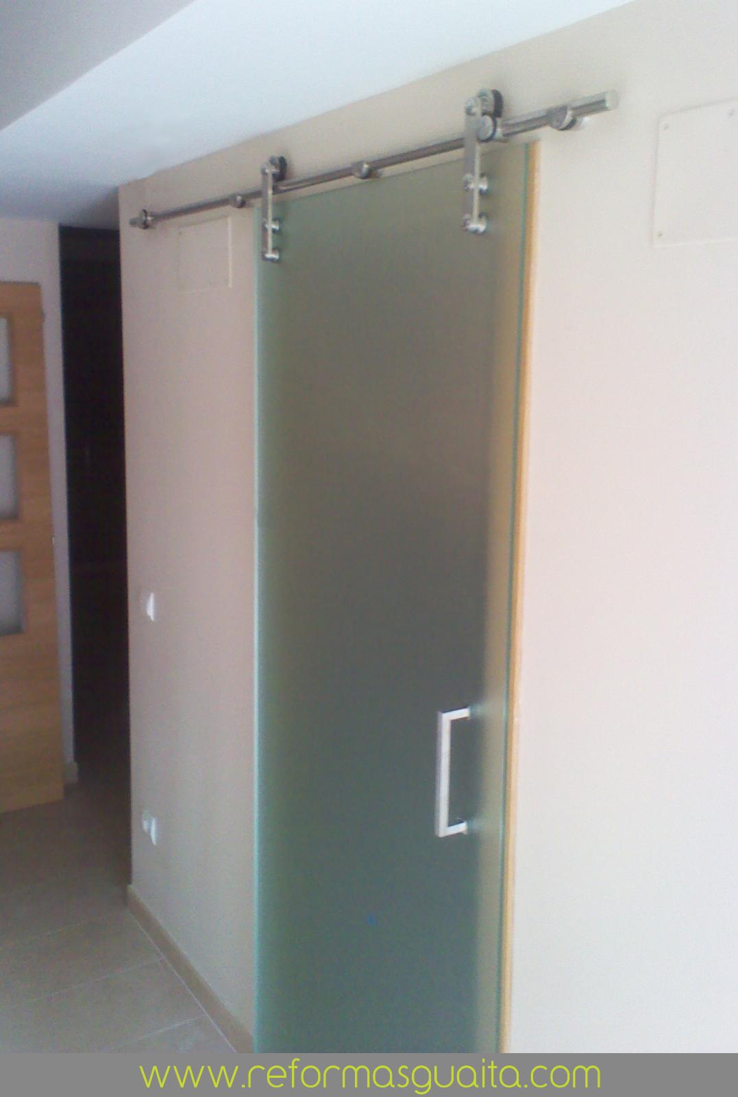 Kit puerta corredera interior - Guia puerta corredera ...