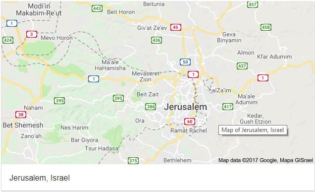 Setelah Wikipedia, Kini Google Maps Akui Yerusalem sebagai Ibu Kota Israel