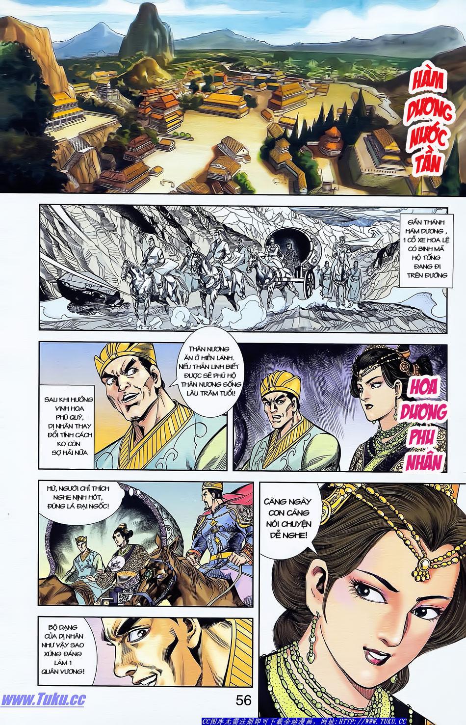 Tần Vương Doanh Chính chapter 4 trang 27