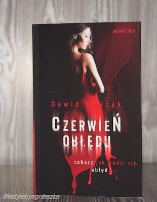 """Książkowa Sobota - Dawid Waszak """"Czerwień obłędu"""""""