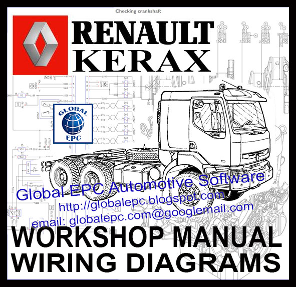 Global Epc Automotive Software Renault Kerax Workshop Service Manuals And Wiring Diagrams
