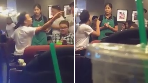 Netizens praise Starbucks barista handling an irate customer well