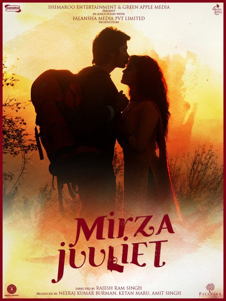 Mirza Juuliet 2017 Movie Posters