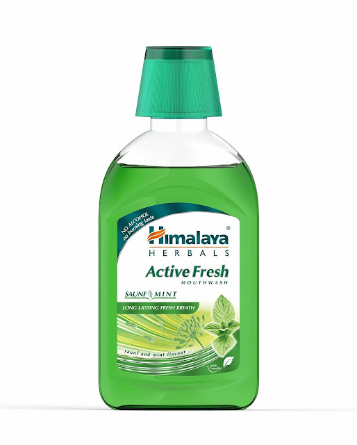 Himalaya Active Fresh Mouthwash