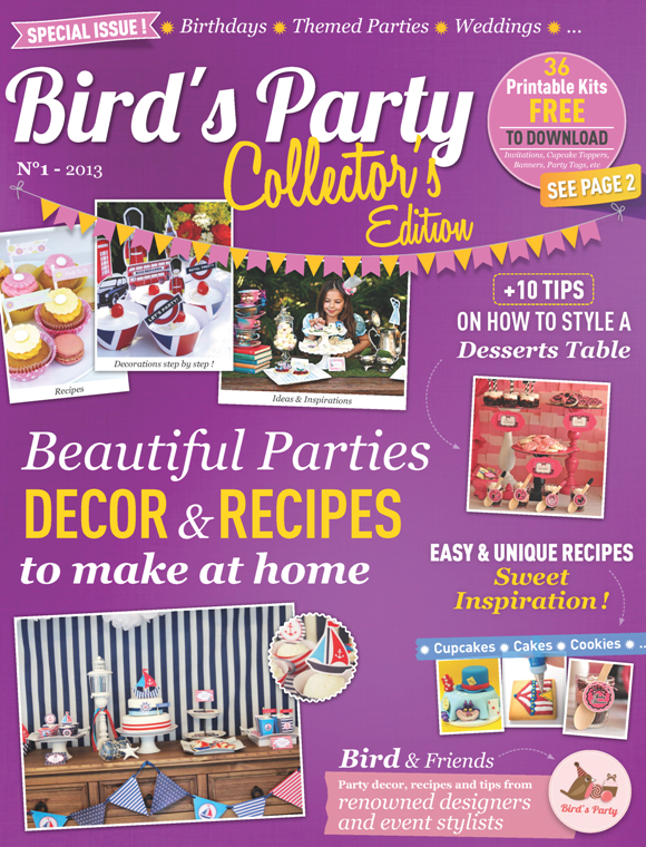 Party Ideas Magazine Digital Edition - BirdsParty.com