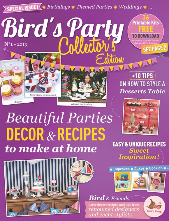 Party Ideas Magazine Digital Edition - BirdsParty.com