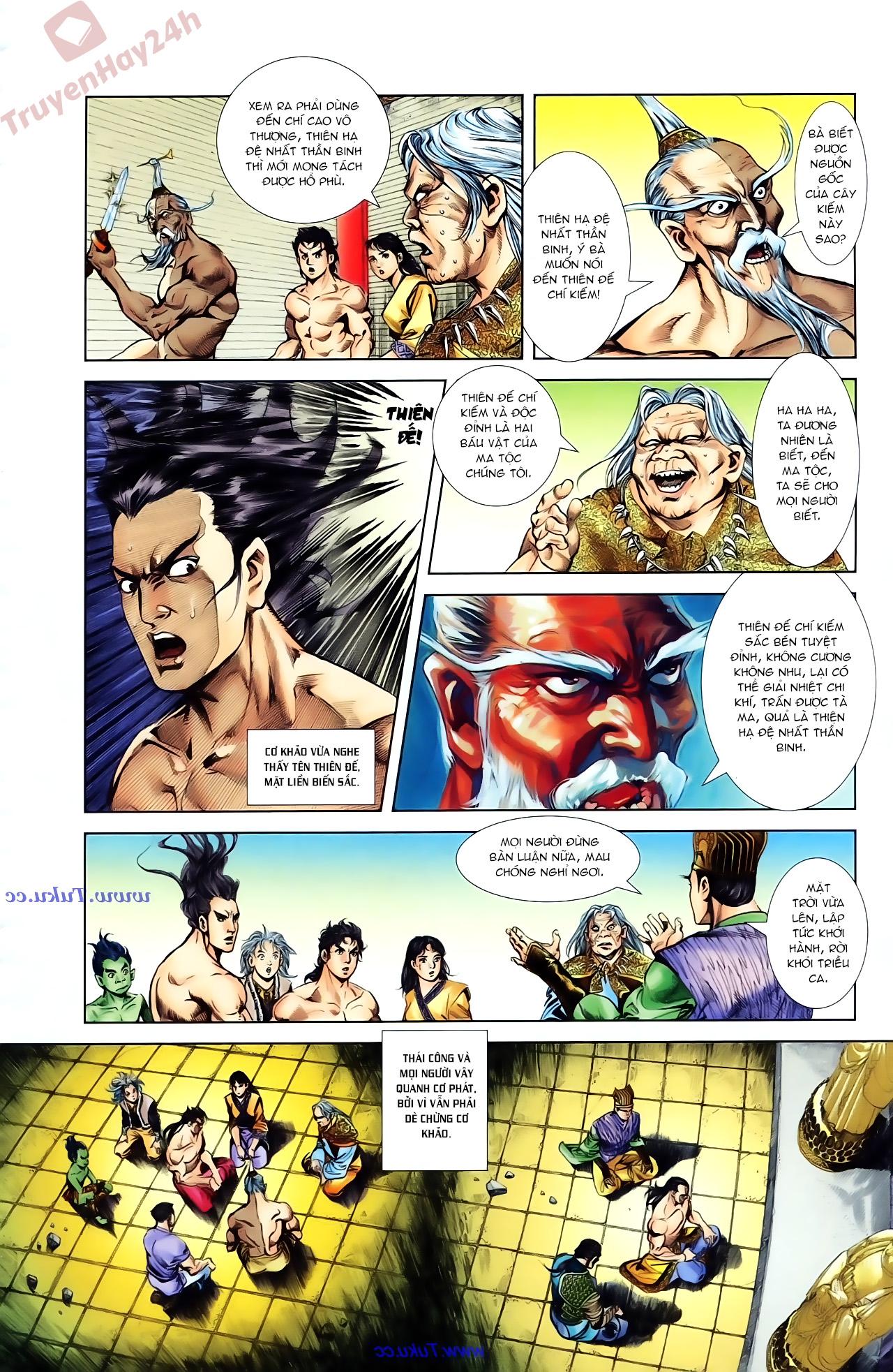 Cơ Phát Khai Chu Bản chapter 85 trang 17
