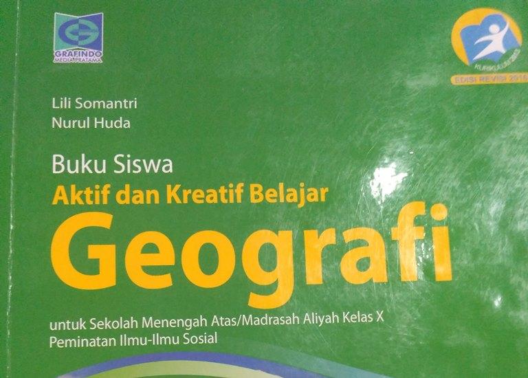 Kunci Jawaban Uji Kompetensi Geografi Kelas 10 Bab 1 Buku Grafindo Guru Geografi