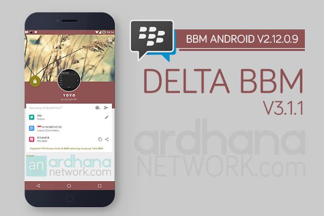 Delta BBM V3.1.1 - BBM Android V2.12.0.9