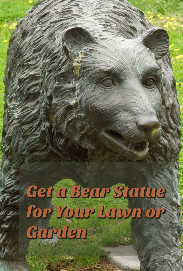 Get a Bear Statue for Your Lawn or Garden.