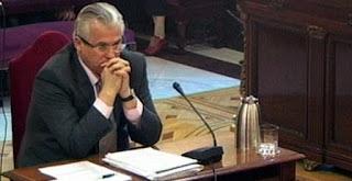 Baltasar Garzón, durante su juicio en el Supremo por investigar los crímenes del franquismo
