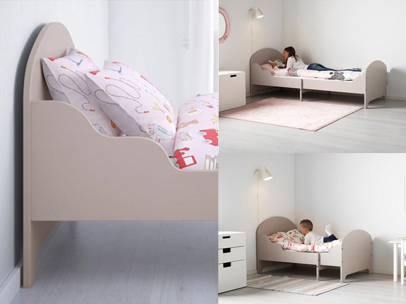IKEA TROGEN, łóżko rosnące z dzieckiem,