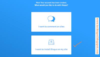 Add Disqus Comment Box In Blogger 3