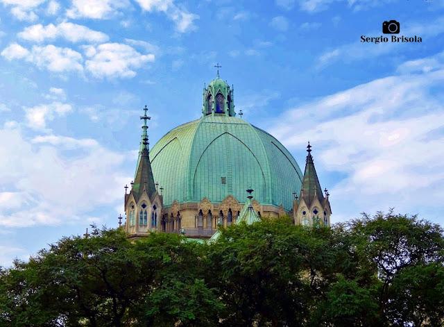 Close-up do Dome da Catedral da Sé - Sé - São Paulo