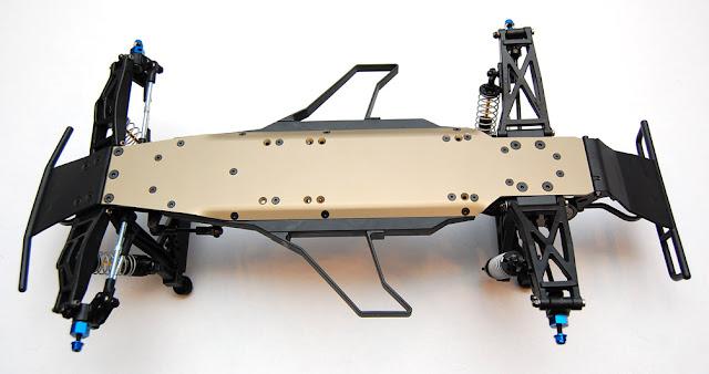 Pro-Line Pro-2 SC chassis underside